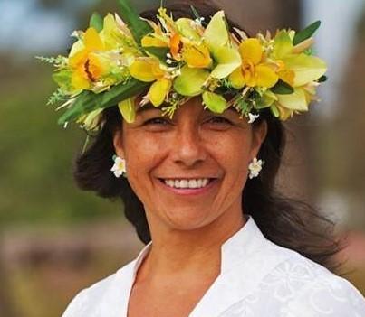 Vice-Presidenta Annette Rapu Zamora